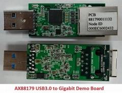供应AX88178A -- USB2.0 转 10/100/1000M 超高速乙太网路控制器