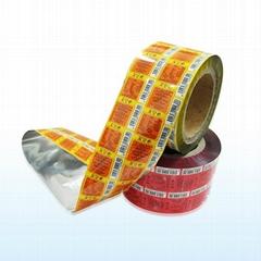 Printed plastic BOPP laminating film,food packaging plastic roll film