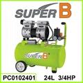 24L 3/4 HP Silent Air Compressor 1
