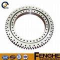 tower crane parts double row with gear slewing bearing