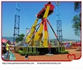 Large amusement thrilling rides top spin space travelling rides 1