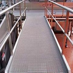 Fiberglass Grating for The Platforms