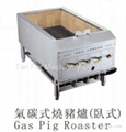 Gas Pig Roaster/Carbon Pig Roasrer