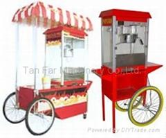 TANFAR 8/16Cat/with 8/16Ounce popcorn machine