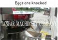 天發全自動轉盤式雞蛋敲蛋機