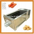 Fresh ginger cleaning peeling machine   1