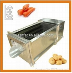 Fresh ginger cleaning peeling machine