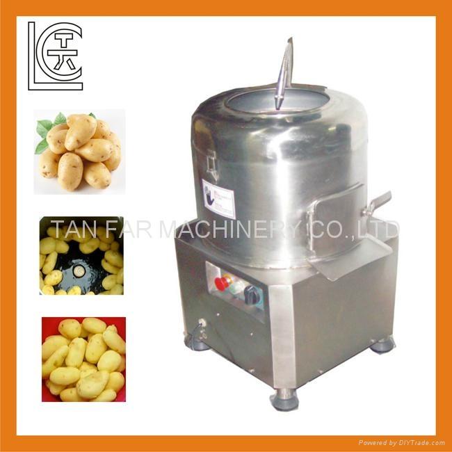 天发自动土豆、马铃薯脱皮机 1