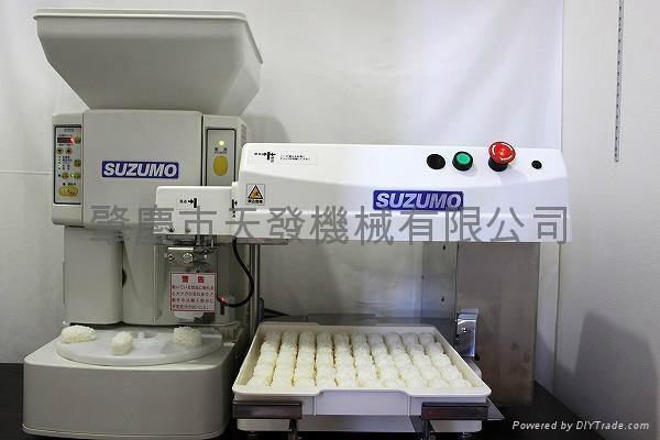 日本玲茂壽司飯糰+排盤機