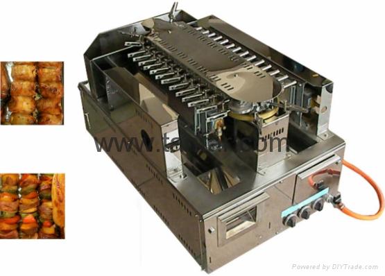 自动回传烤串机