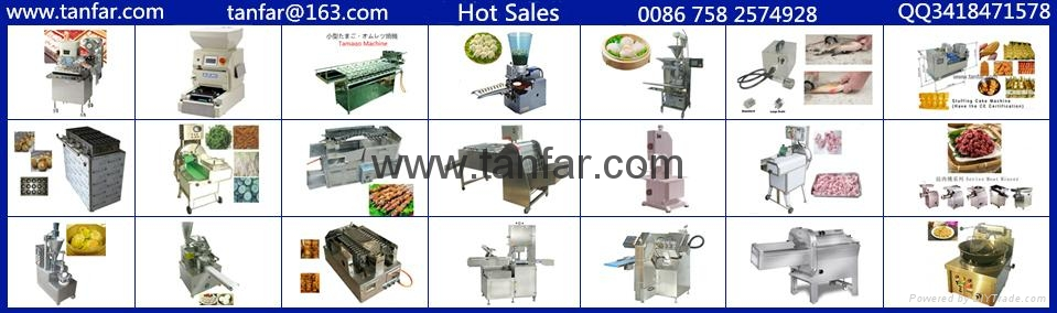 Auto.Rotating Bar.B.Q. Machine & Yakitori Machine,Satay Robots  20