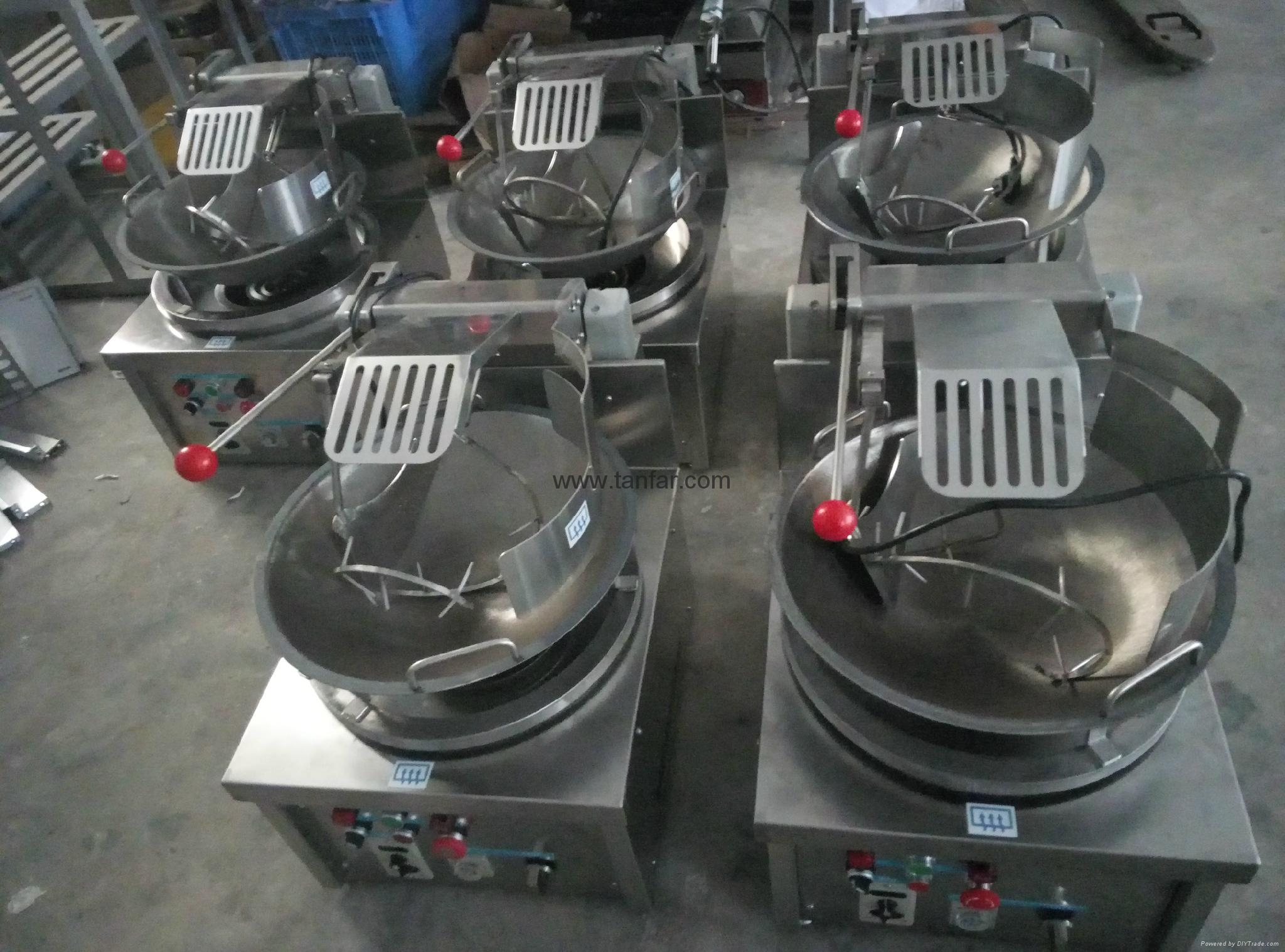 rice frying machine