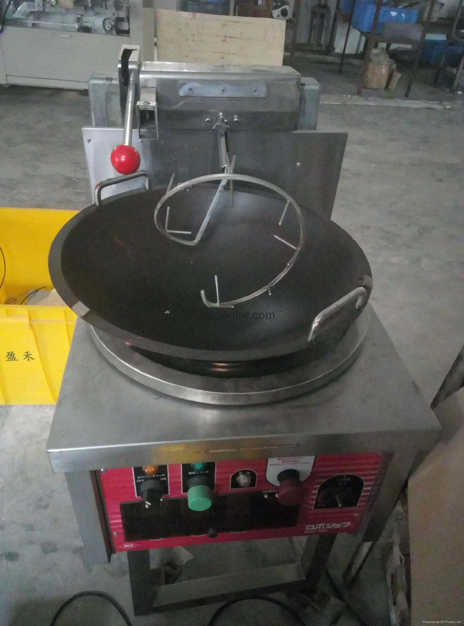 天发自动炒饭机 炒菜机 炒食机TF-460 8
