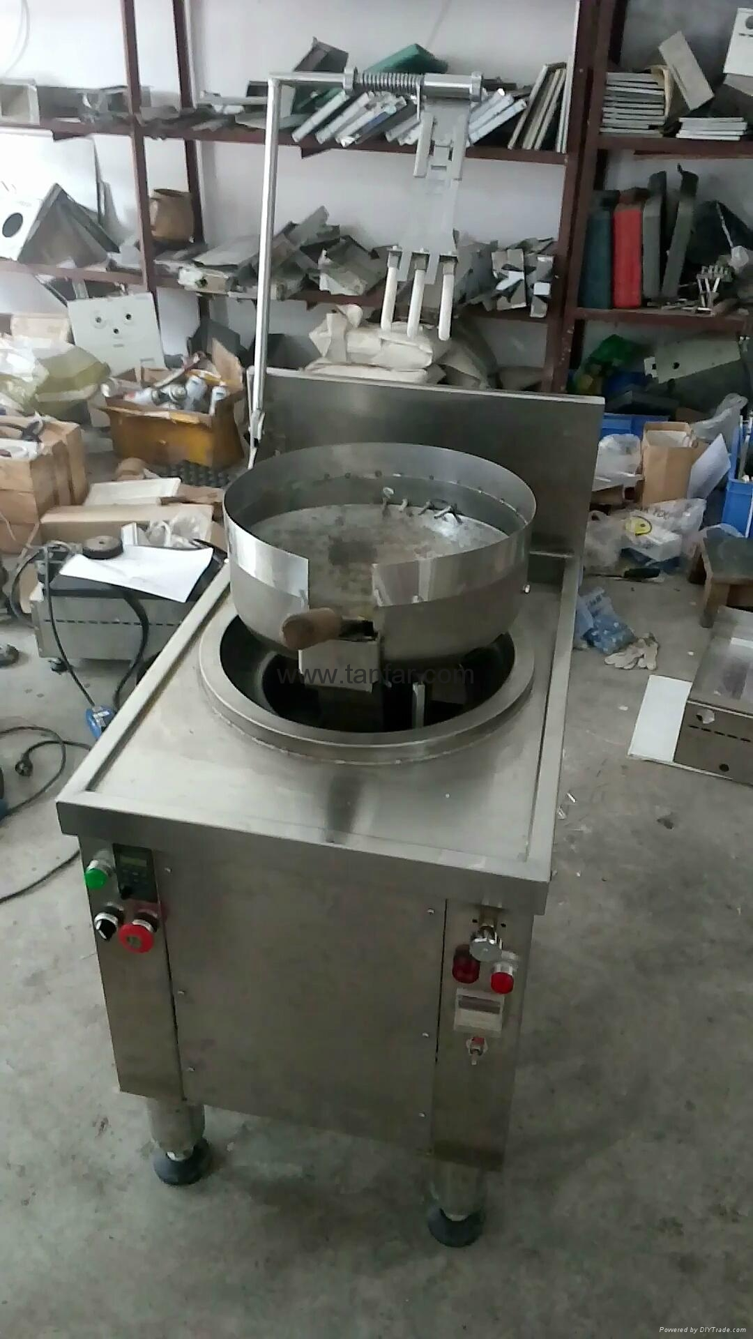 noodle frying machine