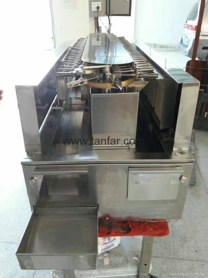 Fujiseiki PS-1800+GSE-1800 onigiri forming and Packing machine 11
