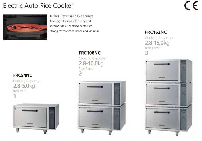 Triple Deck Stainless Rice Cooker (Electric) 7