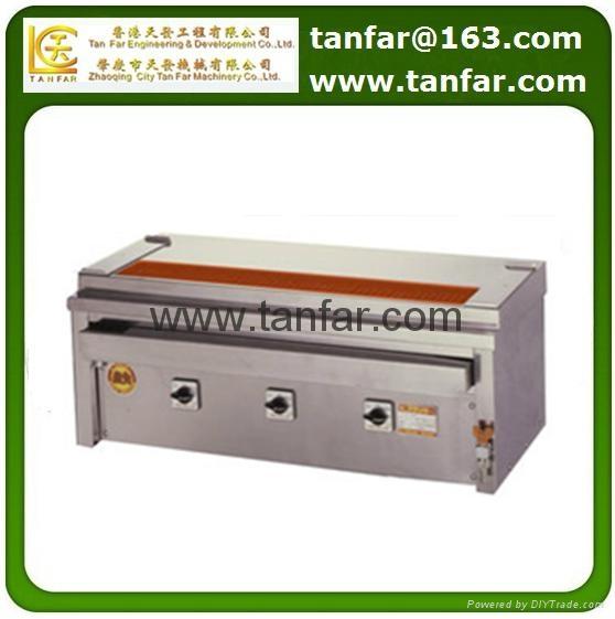日本電加熱式燒烤機 燒烤爐 串燒機 3P-210C 1