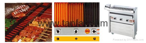 日本電加熱式燒烤機 燒烤爐 串燒機 3P-210C 3