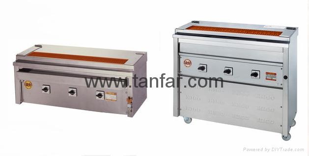 日本電加熱式燒烤機 燒烤爐 串燒機 3P-210C 5