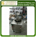 gas heating rice frying machine