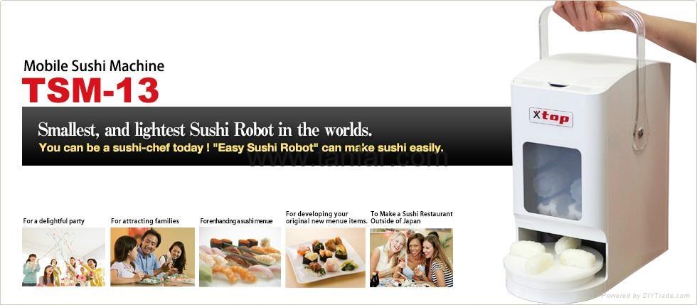 Mobile Sushi Machine  Sushi balls Forming Robot TSM-13 5