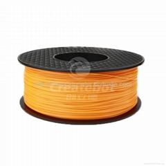 Createbot orange ABS Plastic Filament 1.75mm 3mm