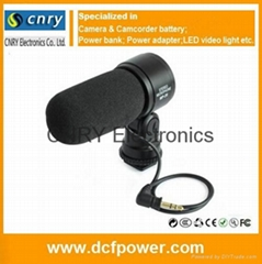 for Canon Camera Microphone MP-28 with Back-Electret Condenser