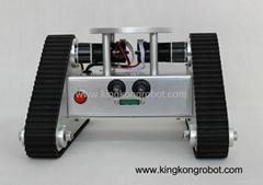 KR0002 Tri-Tracked Tank Robot Kit with Ultrasonic Sensors