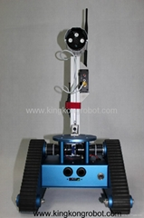 KR0005 RC Tri-Tracked Tank Mobile Robot Kit with Camera