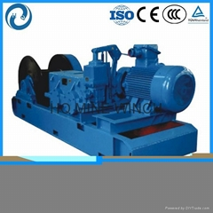 China supplier Double speed mining electric multi purpose winch
