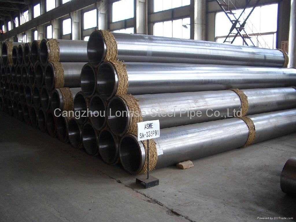 alloy seamless steel pipe astm a335 p22 p9 4