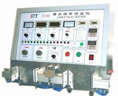 Plug testing machine