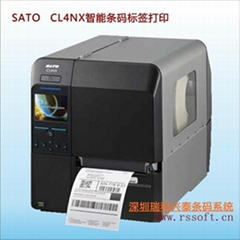 SATO CL4NX智能工业条码打印机