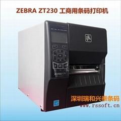 斑马Zebra ZM400轻工业条码打印机