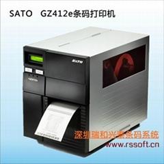 佐藤SATO GZ412E高性能工业条码打印机(停产)