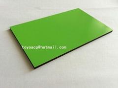 PVDF PE coating aluminum composite panel