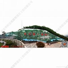 廊橋浮雕壁畫