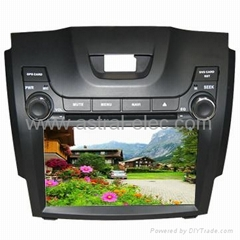 wholesale car dvd player with gps car media radio Special for Chevrolet S10