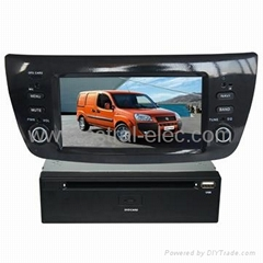 Chinese car media system car gps navigation Special FIAT DOBLO
