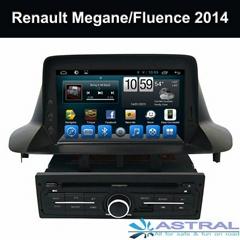 Factory In Dash Car Radio Multimedia System Renault Megane Fluence 2013 2014