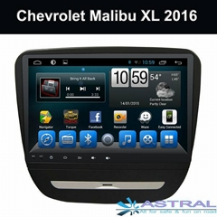 OEM GPS Navigation Chevrolet Malibu XL 2016 Car Radio With TFT Screen