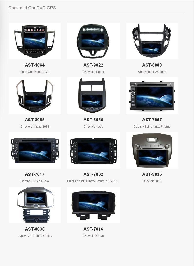 OEM GPS Navigation Chevrolet Malibu XL 2016 Car Radio With TFT Screen 2