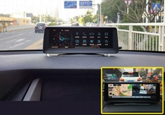 On Dash Car GPS Dvr OEM with Navigation Monitor SD Bluetooth
