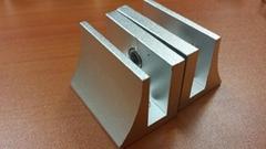aluminium glass clip