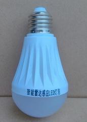 智能雷达感应LED灯泡