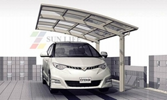 modern Single Aluminum carport