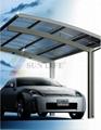 modern Single Aluminum carport  3