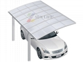modern Single Aluminum carport  4