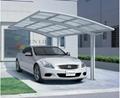 modern Single Aluminum carport  5