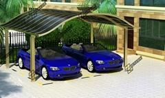2014 Hot Sales!Europea-Style Double Aluminum Carport